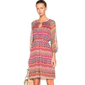DVF Diane Von Furstenberg Parry Floral Dress $448